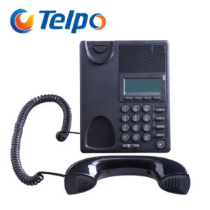 2016 Modern Design 2 SIP Ports Internet Wired Hotel Telephone pictures & photos