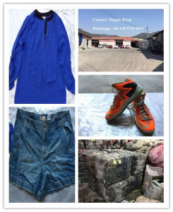 Used Clothes and Second Hand Clothing, Well Sorted Clothing pictures & photos