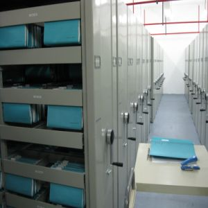 High Density Mechanical Intelligent Filing Mobile Shelving pictures & photos