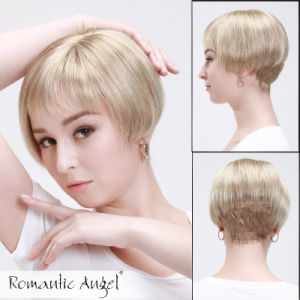 Short Straight Synthetic Fashion Full Wigs pictures & photos