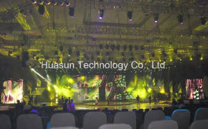 Magnet Fast Combination Flexible LED Curtain for Stage Backdrop, Entertainment... pictures & photos