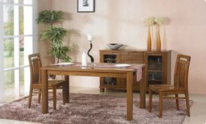 Nice Style Dining Set Made by Solid Ash Wood (M-X1120) pictures & photos