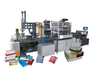 Manufacturer of Food Box Making Machine in China pictures & photos