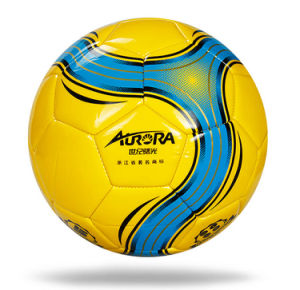 Customized All Size Machine Stitched TPU/PU/PVC Soccer Ball Football pictures & photos