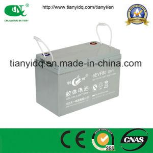 12V80ah Maintenance Free Lead Acid Power Battery for Electric Car
