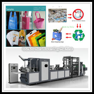 Non Woven Jute Bags Making Machine pictures & photos