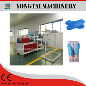 Fully Automatic Disposable Plastic Sleeve Cover Making Machine pictures & photos