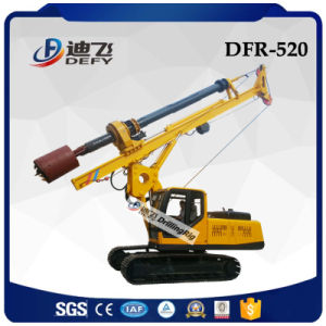 High Quality Dfr-520 Crawler Mounted Hydraulic Screw Pile Driver Drilling Machine pictures & photos