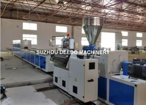 Plastic Wire Trunking Profile Production Line pictures & photos
