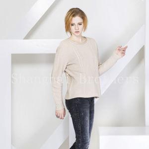 Ladies Fashion Cashmere Sweater 16braw316 pictures & photos
