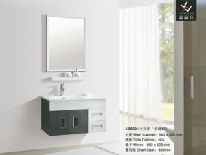 Modern Stainless Steel Hotel Bathroom Cabinet (J-8659)