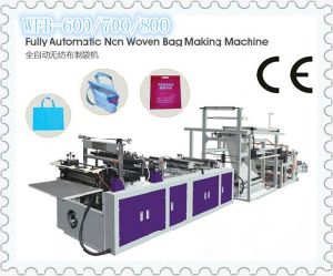 Automatic Non Woven Handle Bag Making Machine Wfb