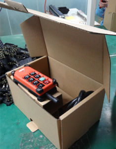 6 Push Buttons Industrial Wireless Radio Crane Remote Control for Crane pictures & photos