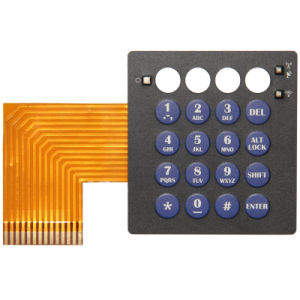 Metal Dome Silicone Overlay Membrane Panel Electronics Switches pictures & photos