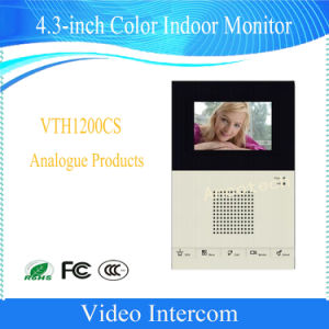 Dahua 4.3-Inch Color Video Phone Hand-Free Calls Doorbell (VTH1200CS) pictures & photos