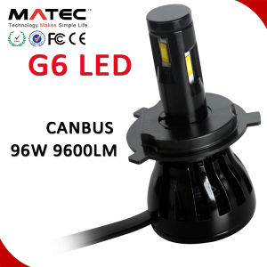 Sample Available Guangzhou Matec LED Headlight 4 Sides COB Chip LED Car Headlight Kit pictures & photos