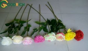 Assorted Real Touch Rose Silk Flower