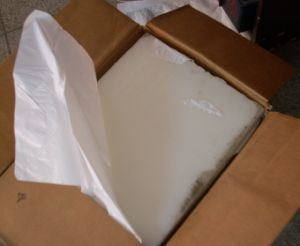 Semi Refined Paraffin Wax 58-60 60-62 White Lump pictures & photos