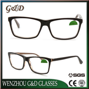 Latest Design New Acetate Spectacle Eyewear Eyeglass Optical Frame pictures & photos