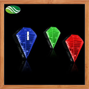 Diamond Shaped Laser Rechargeable Laser Tail Light pictures & photos