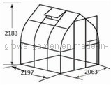 A7 Series Greenhouse for Plants and Flowers (A707) pictures & photos