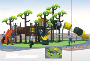 2015 Hot Selling Outdoor Playground Slide with GS and TUV Certificate QQ14017-1 pictures & photos