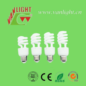 Tri-Color T2 9W-32W Half Spiral Sereis CFL Lamps Energy Saving Lamp pictures & photos