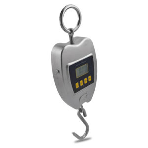 Metal Hand Digital Hanging Luggage Fishing Weight Scale with Hook pictures & photos