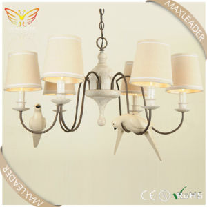 New Hot Sale Antique White Fabric Chandelier