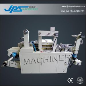 Narrow Webbing Label Die Cutter Machine with Punching Function pictures & photos