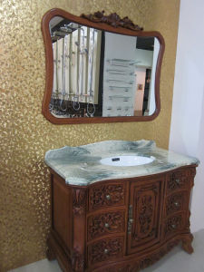 Solid Wood Bathroom Cabinet (B8063) pictures & photos