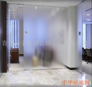 4-12mm Acid Etched Glass with China Factory Price pictures & photos