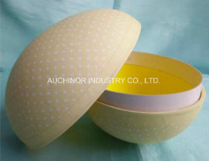 Pulp Egg Shaped Paper Packaging Box Gift Box pictures & photos