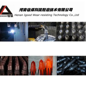 Alloy Powder Cladding Conical Picks Production pictures & photos