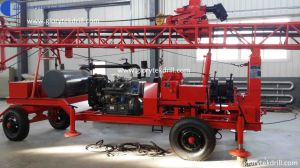Hot Sale Gl-Iia Trailer Mounted Drilling Rig pictures & photos