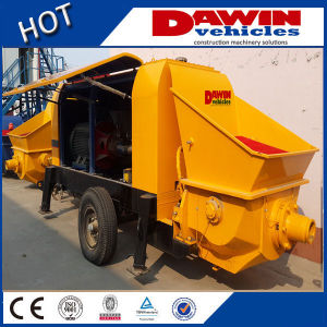 60m3 80m3/H Large Trailer Concrete Pump with Elctric or Diesel Power Manufacturer pictures & photos