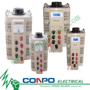 TSGC2 Series Contact Voltage Regulator/Variable Transformer 3phase, Tsgc2-3/6/9/12/15/20/30/40/45/50kVA pictures & photos
