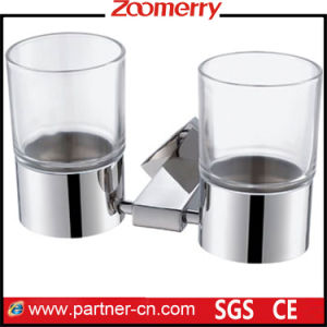 Stainless Steel and Frost Glass Double Tumbler (06-3001) pictures & photos