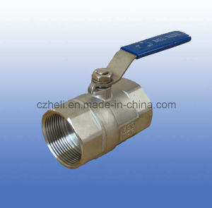 1PC Stainless Steel Ball Valve pictures & photos