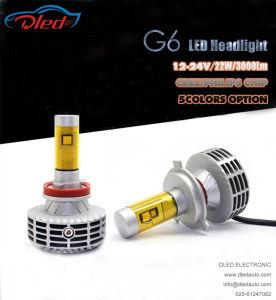 G6 H4 Fanless CREE Chip 3000lm LED Headlight Lamp