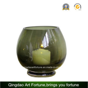 Round Glass Bowl for Candle Holder Manufacturer pictures & photos
