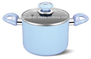 20cm Blue Aluminum Non-Stick Casserole