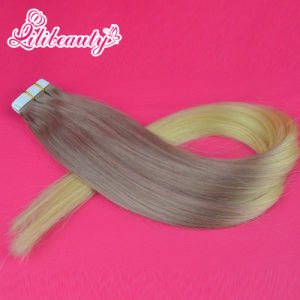 Wholesale Price Unprocessed Human Virgin Remy Tape Hair Extensions pictures & photos