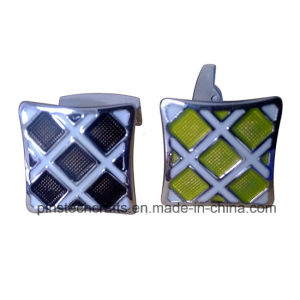 Soft Enamel Color Filled Cufflinks pictures & photos