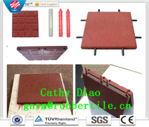 China Gold Supplier Wholesale Playground Rubber Tile, Rubber Floor Tile, Rubber Stable Tiles pictures & photos