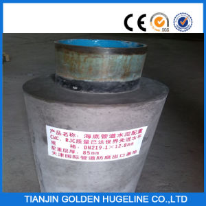 Concrete Weight Coating Seamless Steel Pipe pictures & photos