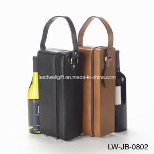 Leather Single Wine Case Holder Wine Bag pictures & photos