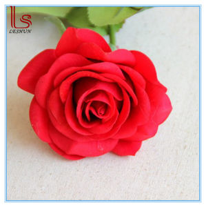 Wholesale Valentine′s Day Gift Flowers Decorative Artificial Red Roses pictures & photos