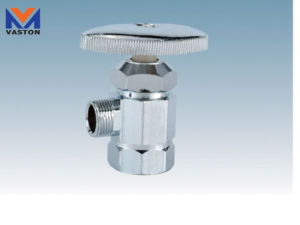 Nickel-Plated Brass Angle Valve (VT-6909) pictures & photos