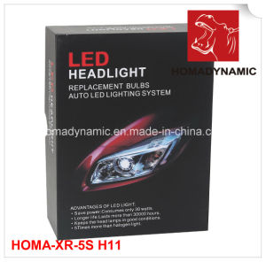 2016 High Power COB Car Motorcycle LED Headlight Bulb 2500lum LED Headlight H11 pictures & photos